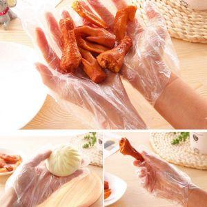 50 Paar Einweg Schutzhandschuh in Lebensmittelqualität für Küche
