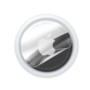 Schutzfolie AirTags 2021, Displayschutzfolie Folie Anti-Scratch Waterproof Blasenfrei HD Weich TPU HD Clear