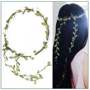 Stirnband Blumen Kopfband Stirnbänder Krone Haarband f. Hochzeit 10pcs