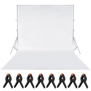 Fotostudio Hintergrund Klammer Mikrofaser Fotografie Studio 2 x 3m