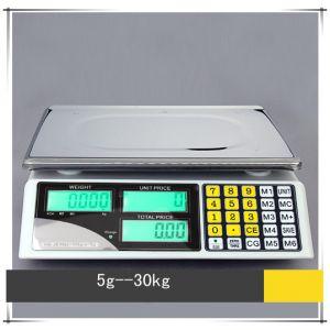 Zählwaage Digitalwaage Ladenwaage Marktwaage Präzisionswaage 30kg/5g
