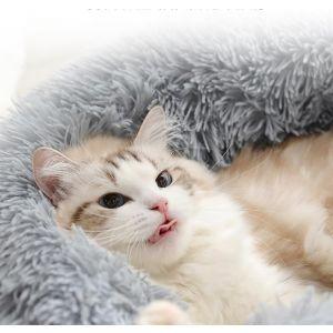 Katzenbett Hundesofa Katzenschlafplatz Haustierkissen für Katzen Hunde