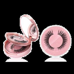 3D Magnet Wimpern 3 Paare Eyelashes Magnetic False Lashes mit Eyeliner