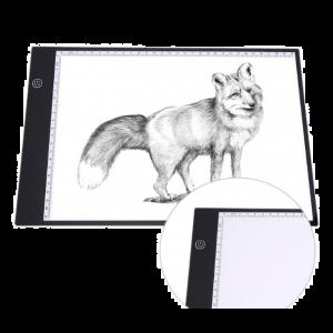 Leuchttisch Leuchtplatte LED A4 Leuchtkästen Copy Board mit USB Kabel