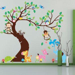 Wandtattoo Wandaufkleber Wandsticker Bilder Cartoon für Kinderzimmer