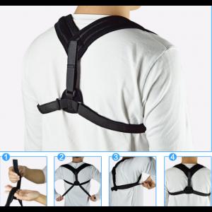 Haltungskorrektur Geradehalter Schulter Rücken Gürtel Haltungsbandage
