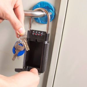 Schlüsseltresor Schlüsselsafe Schlüsselbox KeyGarage 4 Zahlencode