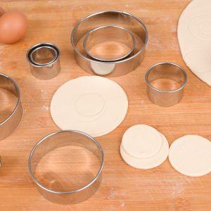 Keksformen Cutter Set zum Selbermachen mit Aufbewahrungsbox 12 Stück