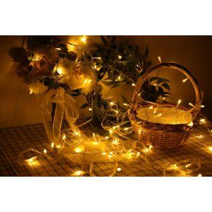 Lichterkette Kupferdraht Leiste Lichter LED Draht für Weihnachten 20M