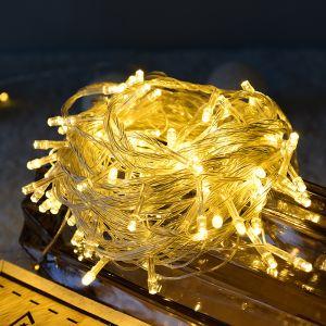 Lichterkette LED Weihnachtslichterkette mit Fernbedienung Timer 11m