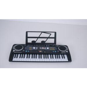 Keyboard digital Piano mit 54 Tasten Klavier Elektronisch Piano E Piano 54 Tasten Keyboard mit Mikrofon, Digital Pianos f. Anfänger Kinder Erwachsene
