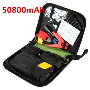 Auto Starthilfe Kit Starter Hilfe Autobatterie Anlasser Set Tragbar