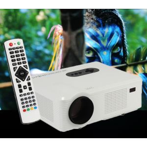 "Videoprojektor LED Beamer Projektor HDMI LCD Player Heimbeamer 5.8"""