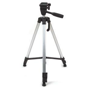 Fotostativ Kamerastativ Dreibein Stativ 135cm f. Nikon Canon