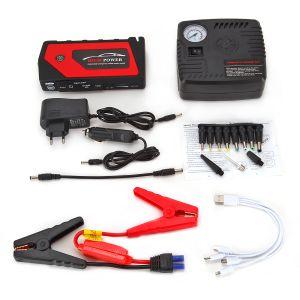 Starthilfe Powerbank 18000mAh Auto Batterie Booster Auto Starthilfe Booster Ladegerät Batterieleistung Bank