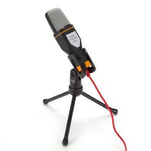Kondensator Aufnahme Mikrofon mit Ständer Set für Computer Laptop