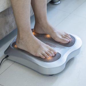 Fussmassagegerät Shiatsu Fussmassager Wärmefunktion 18 Massageköpfen