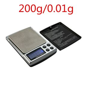 Taschenwaage Schmuckwaage Feinwaage Milligramm Digitalwaage 200g/0.01g