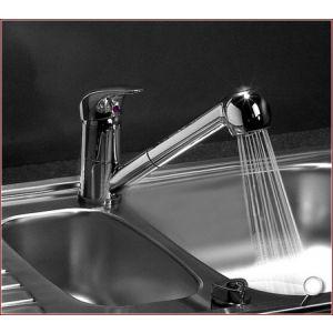 Wasserhahn Armatur Wasserfall Duschkopf Badarmatur Einhebel Edelstahl