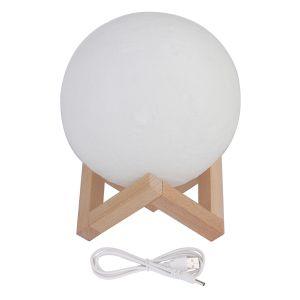 Mond Lampe LED Nachtlampe Mondlicht USB Lade für Schlafzimmer 3 Farbe