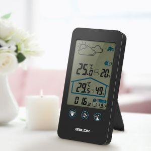 12in1 Wetterstation mit LCD Display für Vorhersage Temperatur tragbar