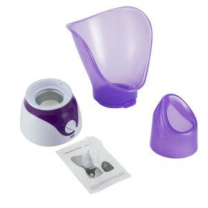 Gesichtssauna Gesichtsdampfer Dampf Inhalator Face Befeuchter Steamer