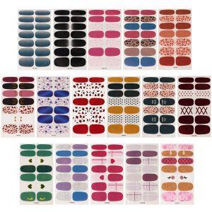 16 Blatt Nagelfolie Nagelsticker Selbstklebend Nagelkunst Aufkleber
