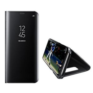 Handyhülle Schutzhülle Spiegel Hülle Abdeckung Ständer für Samsung S9