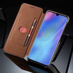 Huawei P30 pro Schutzhülle Tasche Case Hülle Flip Handyhülle