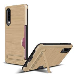 Huawei P30 Handyhülle Hülle Tasche Case Schutzhülle mit Ständer