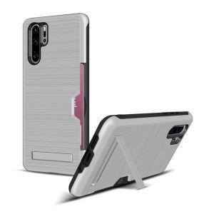 Huawei P30 pro Schutzhülle Handyhülle Case Bumper Cover mit Ständer