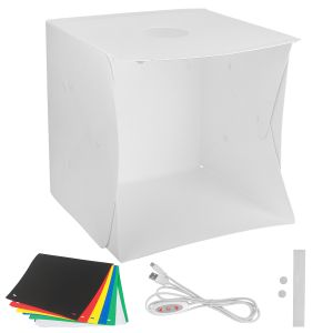 Lichtzelt Beleuchtung Studio Schiessen Zelt Box Schiesszelt 40x40cm
