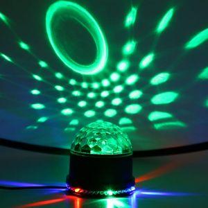 Discokugel Musikgesteuert Disco Lichteffekte RGB Partylicht LED Lampe