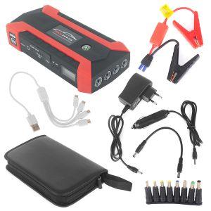 Auto Starthilfe Notstart Stromversorgung mit LED Taschenlampe und Kompass