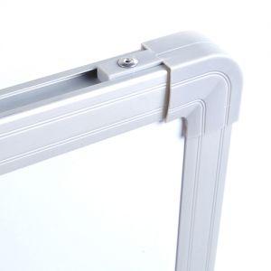 Whiteboard Magnettafel Memoboard Weisstafel mit Alurahmen 60x45cm
