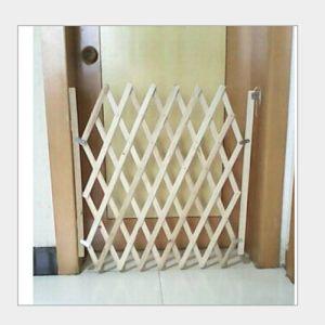 Türschutzgitter Hunde Absperrgitter Treppengitter Holz bis 110cm