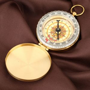 Marschkompass Taschenkompass Peilkompass Metall für Reisen Wandern