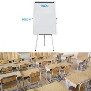 Magnettafel Whiteboard Schreibtafel Stativ-Drehtafel mobil 70x100cm