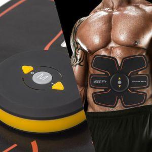 Trainingsgerät Bauchmuskeltrainer EMS Muskelstimulator Fitness Gürtel