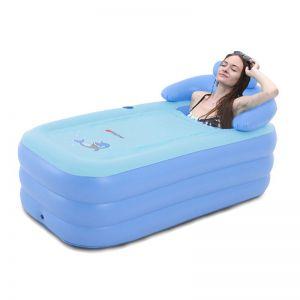 Badewanne Waschbecken Faltbares Schlauchboot Erwachsene Aufblasbar
