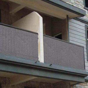 Sichtschutzmatte Balkon Sichtschutz Sonnenschutz UV-Schutz 90x500cm