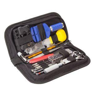 Uhrmacherwerkzeug Uhrenwerkzeug Reparatur Tasche Uhrmacher Set 147tlg
