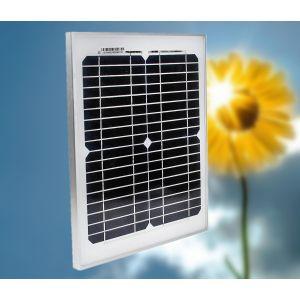 Solar Modul Solarpanel Monokristallin Solarzelle für Gartenhaus 10W