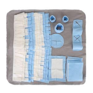 Schnüffelteppich Matte Futtermatte Trainingsmatte Decke Schnüffelrasen