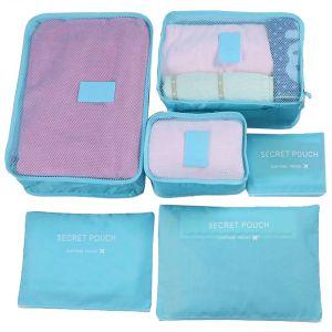 Kleidertaschen Packtaschen Kofferorganizer Reisetaschen Set 6tlg