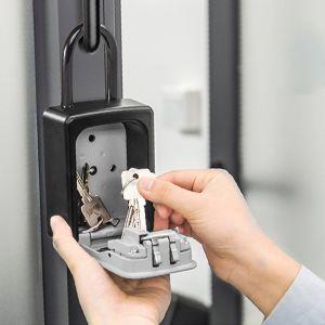 Schlüsseltresor Schlüsselsafe Schlüsselbox mit 4-stelligem Zahlencode