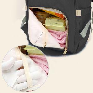 Wickelrucksack Babytasche Wickeltasche Baby Reisetasche für Unterwegs