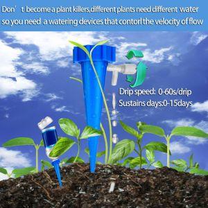 12 Stück Automatisch Bewässerung Blumen Tropfer Bewässerung Set