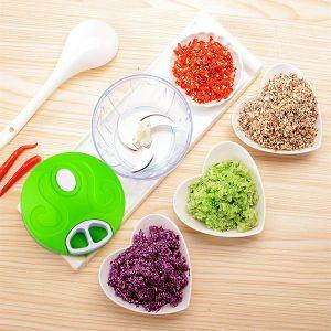 Küche Manuell Multizerkleinerer Zwiebelhacken Mischen für Salat Fleisch