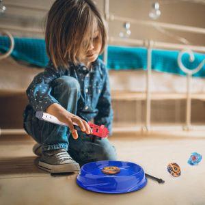 Speed Kreisel Kampfkreisel mit Basis Arena Kindertag 4er Spielzeug Set